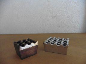 Cendriers Bronze et alu Grand modèle