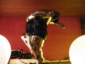 Petites danseuse bronze sur socle